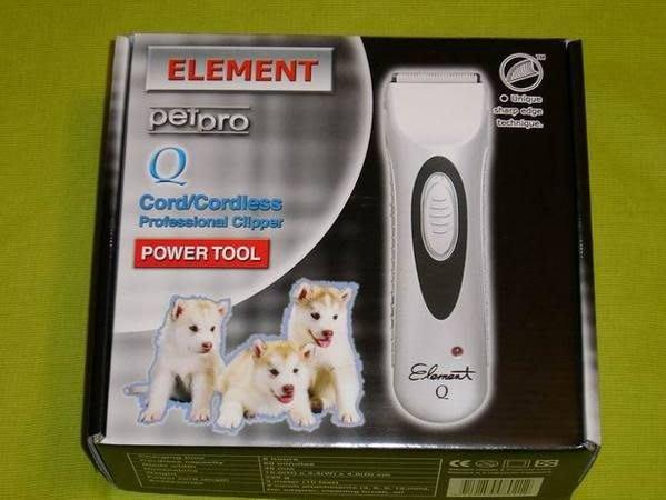 e世代~ELEMENT元素牌Q也就是P7陶瓷刀頭寵物電剪是同一隻寵物電動剪毛器Q電剪