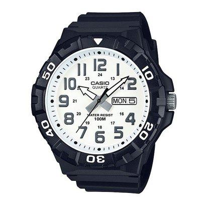 CASIO潛水運動風MRW-210H 錶圈可旋轉作為計時用途 防水100米 潛水游泳衝浪 海上運動 5.5公分酷炫大錶徑