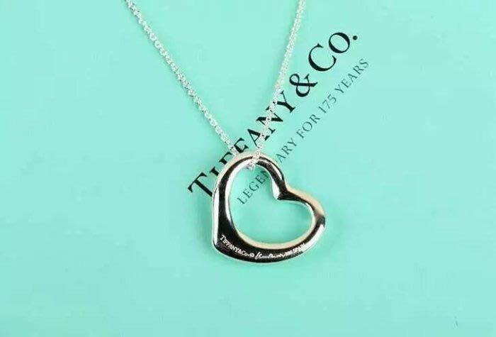 Melia 米莉亞代購 Tiffany&Co. 925純銀 Tiffany 蒂芙尼 項鍊 禮物 純銀純心愛心項鍊