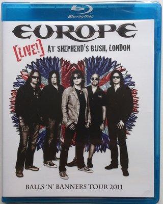 BD/ Europe - Live! At Shepherd's Bush, London 全新美版