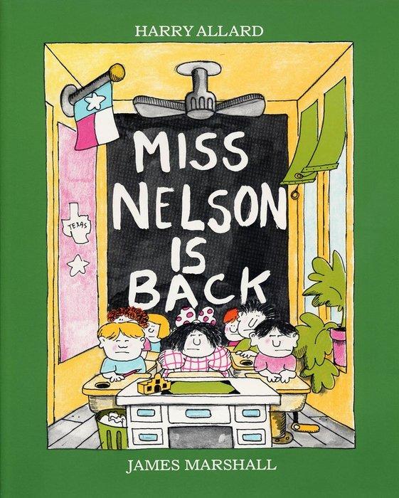 *小貝比的家*MISS NELSON IS BACK [汪培珽英文書單]/平裝/7~12歲/幽默 Humor