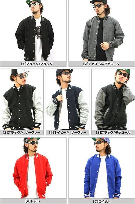 【HOMIEZ】美國 PRO CLUB HW Baseball Jacket【PC124】重磅 棒球外套