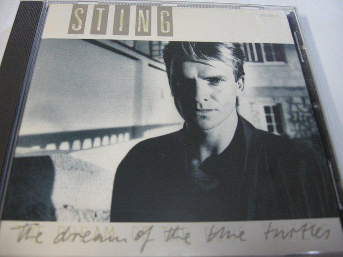 Sting/ The Dream of the Blue Turtles 自藏美版CD保存良好 法國製 1985 A&M