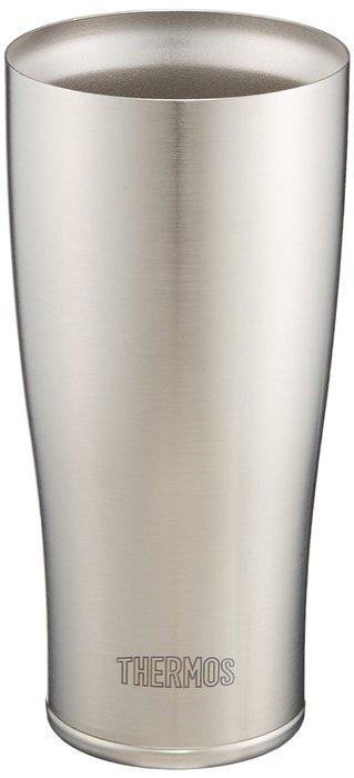 【東京速購】日本THERMOS膳魔師JDE-420真空斷熱杯/不鏽鋼保冷保溫兩用杯/啤酒杯420ml