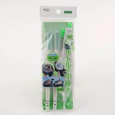 多多屋日本帶回 瓶栓間隙清潔刷具組  杯蓋刷 細縫刷 3入組清潔刷具
