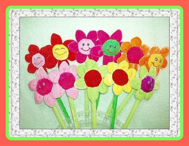 玫瑰花朵筆~向日葵~絨毛筆原子筆~結婚禮小物~二次進場~送客禮~謝師禮~開幕周年~畢業贈品