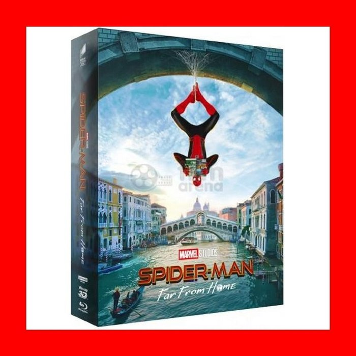 【4K UHD】蜘蛛人 離家日:4K UHD+3D+2D 四碟幻彩盒限量鐵盒版E3款(英文字幕)Spider-Man