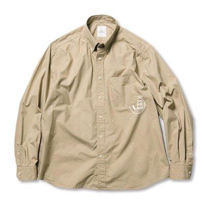 21SS Uniform Experiment DRIPPING BIG B.D SHIRT 全新正品 UE 潑漆現貨
