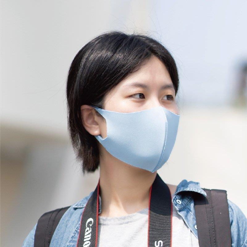 【勤逸軒】Prodigy超透氣MIT防曬立體口罩-天空藍1入