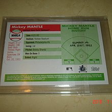 美國職棒 Yankees Mickey Mantle 2006 Topps #MHR14 球員卡