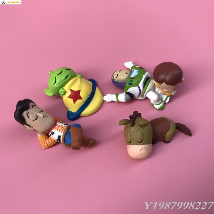 ❀Lexare❀正版散貨 瞌睡的迪S尼 玩具總動員巴斯胡迪 第三彈 扭蛋