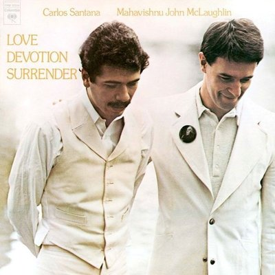 美國二手黑膠Santana & McLaughlin/Love Devotion Surrender