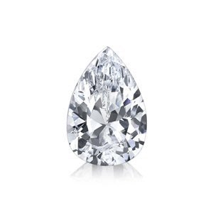 GIA 0.30克拉 E VVS1 Pear Cut Diamond (30分水滴型切刻鑽石價格)