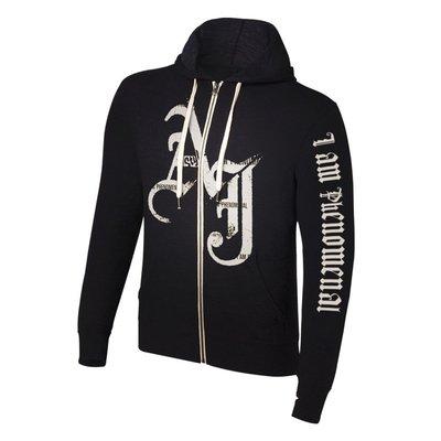 ☆阿Su倉庫☆WWE摔角 AJ Styles I am Phenomenal Sweatshirt AJ輕薄款連帽外套
