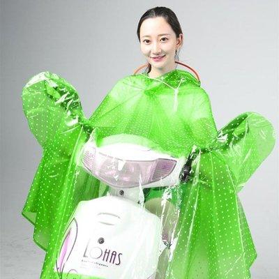 致富家電動車雨衣單人加大厚男女成人摩托電瓶自行車騎行防水雨披