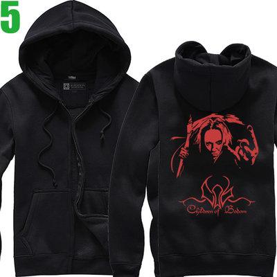Children Of Bodom【死神之子】連帽厚絨長袖重金屬搖滾樂團外套(共4種顏色可選) 購買多件多優惠【賣場二】