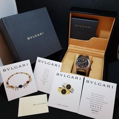 感謝收藏《三福堂國際珠寶名品》Bvlgari Ergon 40MM男錶 EG40S AT