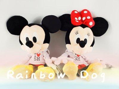 米奇 米妮 上海迪士尼 限定款(兩款一組)