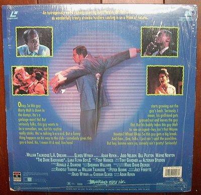 美版進口LD影碟-The Dark Backward三手怪客電影.如圖示