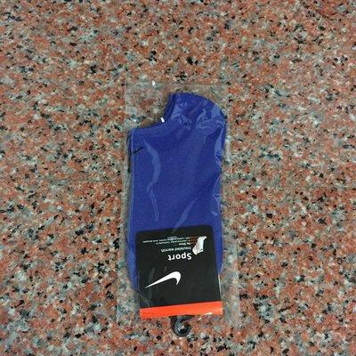Nike襪 【素面款  春 薄款船襪 】【編號2  深藍色】【 】