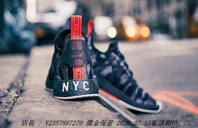 愛迪達Adidas Original NMD R1 NYC 紐約限定 美國 黑迷彩 全黑 限量 男潮流鞋