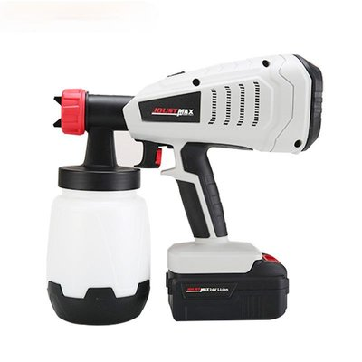 JOUST MAX 升級新款手持式24V鋰電噴漆槍 油漆噴槍高壓鋰電噴霧器 量大從優