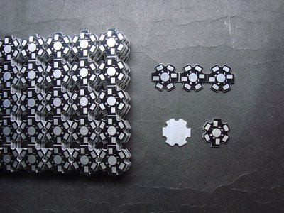 【165】LED鋁基板 20MM LED燈珠 散熱片 16MM