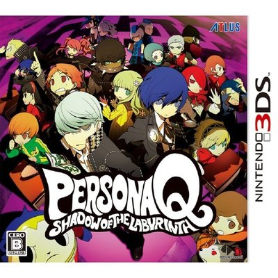3DS N3DS Q 女神異聞錄 Q 女神異聞錄Q 迷宮闇影 PERSONA Q Shadow 售 1500