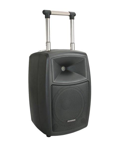 《民風樂府》PHONIC Safari 3000 320瓦 大音量 可充電 內建無線麥克風 攜帶式專業音響系統