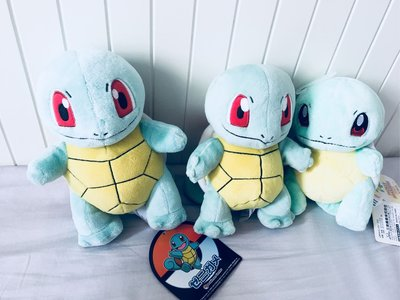 Three Pokemon Squirtles.