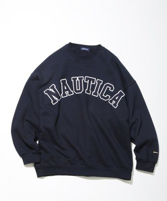 【日貨代購CITY】 FREAKS STORE NAUTICA SWEAT LETTERED CREW 長T 現貨