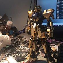 Bandai MG 1/100 MSN-00100 Hyaku-hiki Ver.2.0 Gundam Z 百式 高達模型 素組完成品