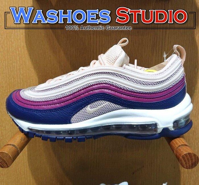 Washoes Nike W Air Max 97 Plum Chalk 蜜桃 藍莓 921733-802 女鞋 慢跑鞋