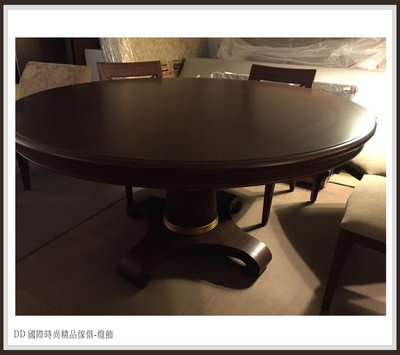 DD 國際時尚精品傢俱-燈飾 baker Tables貝克系列(復刻版)現品特價$35000 貼金箔餐桌