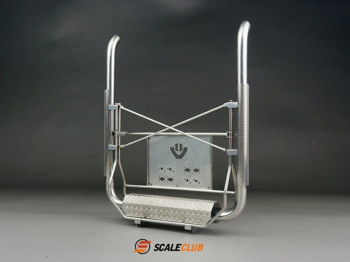 【喵喵模型坊】SCALECLUB 1/14 歐卡風格 V形上出排氣管 (VPQ-TY-1)