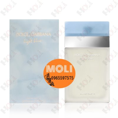 ◇MOLI 莫麗◇Dolce & Gabbana D&G LIGHT BLUE 淺藍中性淡香水200ml-2022/11