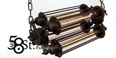 【58街】米蘭展設計款式「Contrary 正負極吊燈_4燈款」時尚設計師的燈。複刻版。GH-374