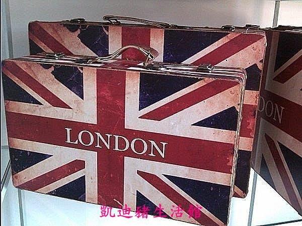 【凱迪豬生活館】仿古英國米字國旗圖案皮箱 攝影道具 復古拍照裝飾木質手提箱行李箱復古箱子影樓道具KTZ-200972