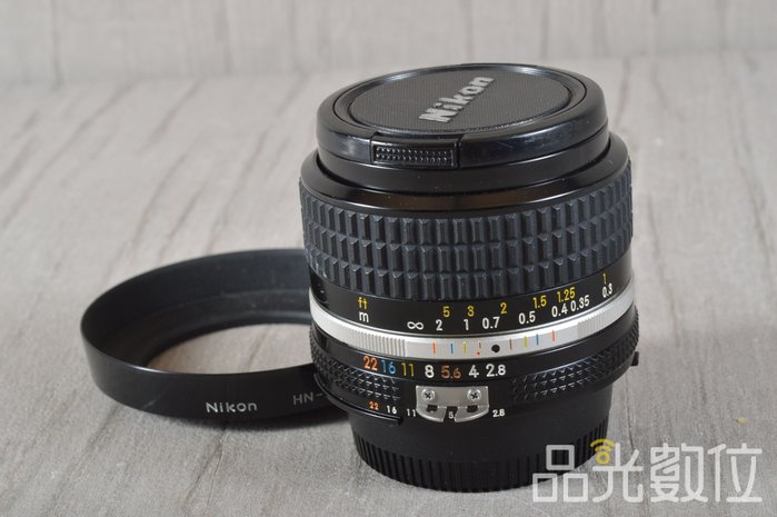 【品光數位】Nikon Nikkor AiS 24mm F2.8 定焦 大光圈 人像 手動鏡 #95034