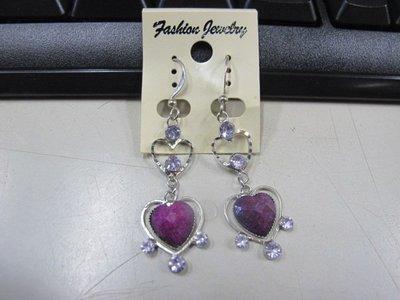 二手舖 NO.4515 時尚造型耳環 耳針 耳鉤 便宜賣 首飾飾品
