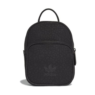 # ADIDAS ORIGINALS MINI BACKPACK BAG 黑色 皮革 後背包 日韓 CE5629 YTS