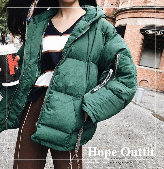 自留!稀有墨綠色&檸檬黃 短版家厚棉外套 韓國外套 韓國棉外套 韓國大衣 正韓大衣外套