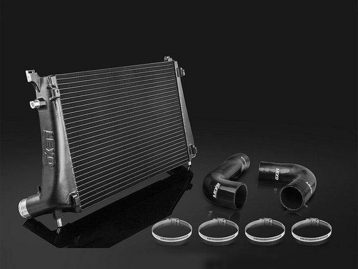LEYO 加大 中冷器 VW 福斯 Golf VII 專用 黑 L021B