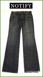 喬瑟芬【NOTIFY JEANS】7折特價$9660~藍色復古單寧直筒牛仔褲MR2634~