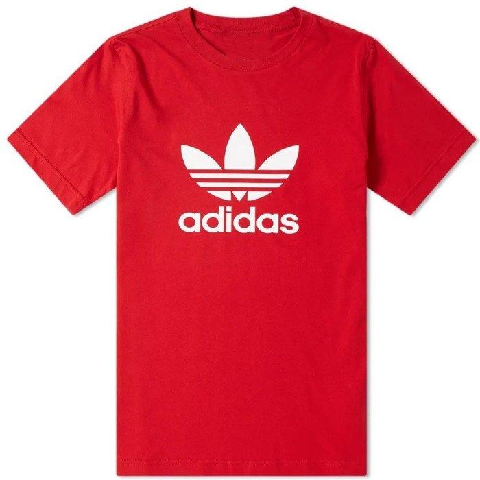 T☆【adidas館】☆【愛迪達adidas三葉草LOGO印圖短袖T恤】☆【AD001C5】(S-M-L)原價1499 2/18到貨