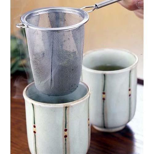 日本製 不銹鋼  深型 茶葉過濾器 濾茶器