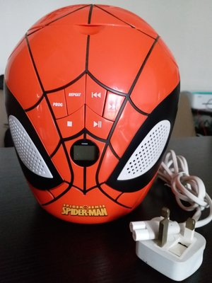 MARVEL~Spider-Man 1:1蜘蛛俠頭像 spider -sense CD Player- 裝飾擺設頭像