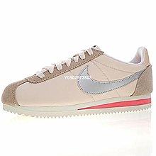 """Nike Classic Cortez""""香檳金銀勾""""低幫 經典 休閒滑板鞋 749864-801 女鞋"""
