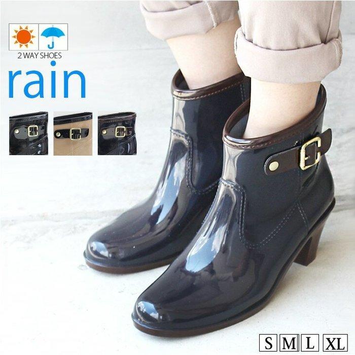 《FOS》日本 女生 雨鞋 雨靴 靴子 防水 舒適 防滑 女鞋 女款 時尚 2019新款 上班 出國 旅遊 團購 熱銷