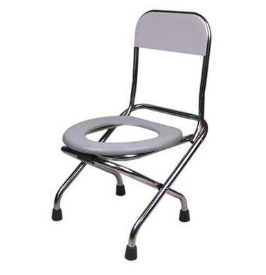 加固防滑可折疊坐便椅老人孕婦坐便器家用蹲坑改移動馬桶便攜凳子CY